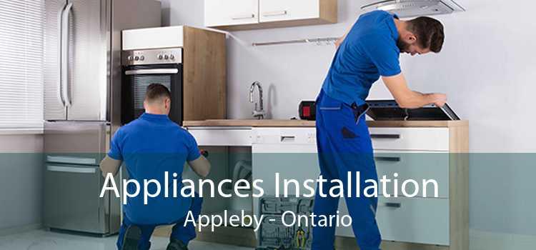 Appliances Installation Appleby - Ontario