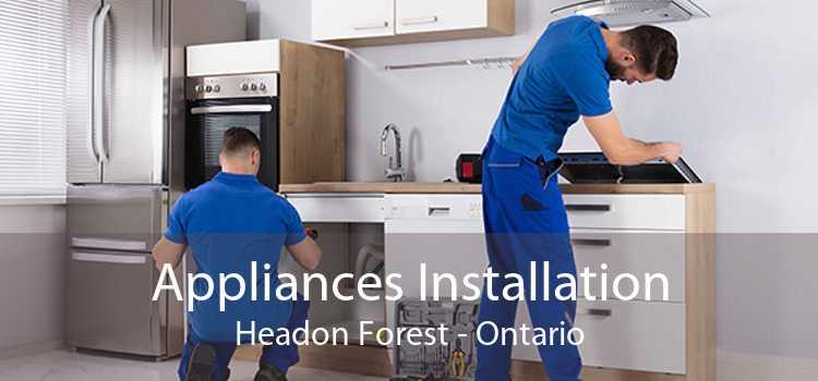 Appliances Installation Headon Forest - Ontario