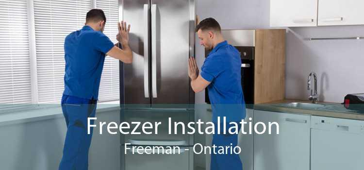 Freezer Installation Freeman - Ontario