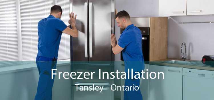 Freezer Installation Tansley - Ontario