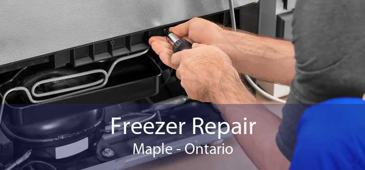 Freezer Repair Maple - Ontario