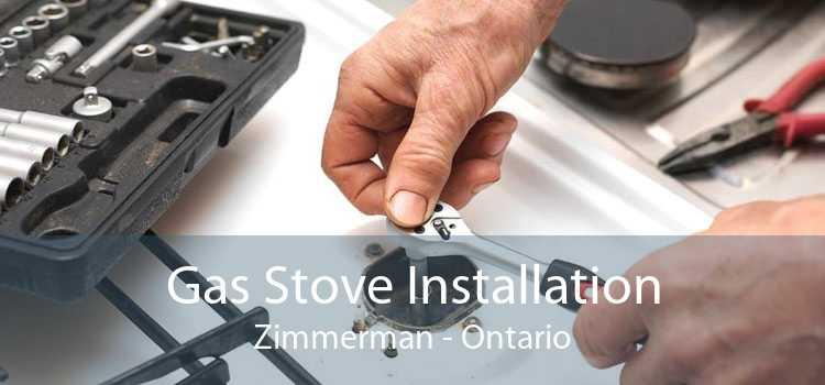 Gas Stove Installation Zimmerman - Ontario