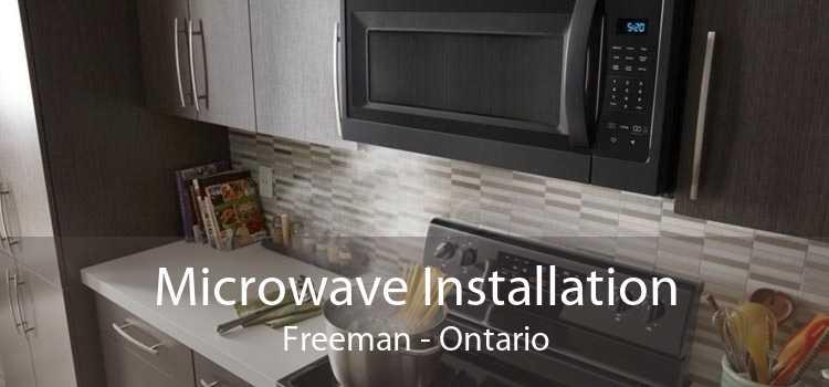 Microwave Installation Freeman - Ontario