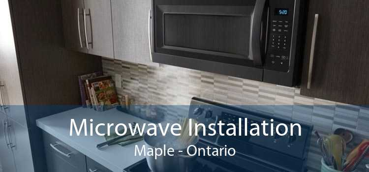 Microwave Installation Maple - Ontario