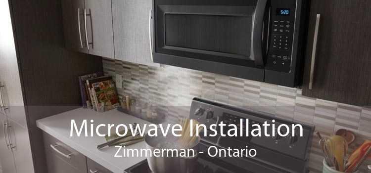 Microwave Installation Zimmerman - Ontario
