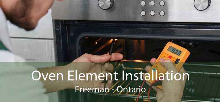 Oven Element Installation Freeman - Ontario