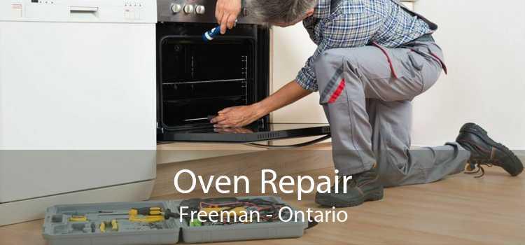 Oven Repair Freeman - Ontario