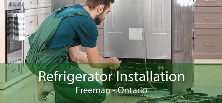 Refrigerator Installation Freeman - Ontario