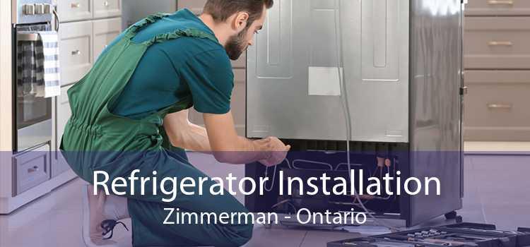 Refrigerator Installation Zimmerman - Ontario