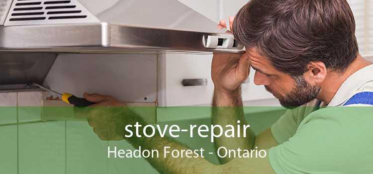 stove-repair Headon Forest - Ontario