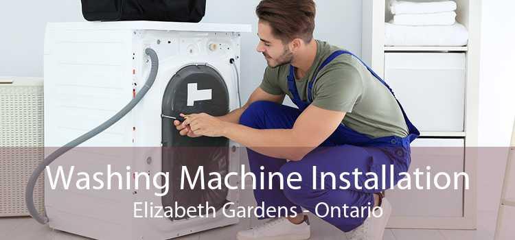 Washing Machine Installation Elizabeth Gardens - Ontario