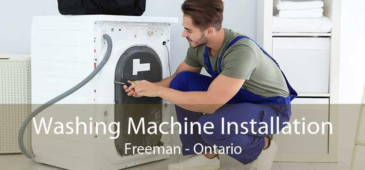 Washing Machine Installation Freeman - Ontario