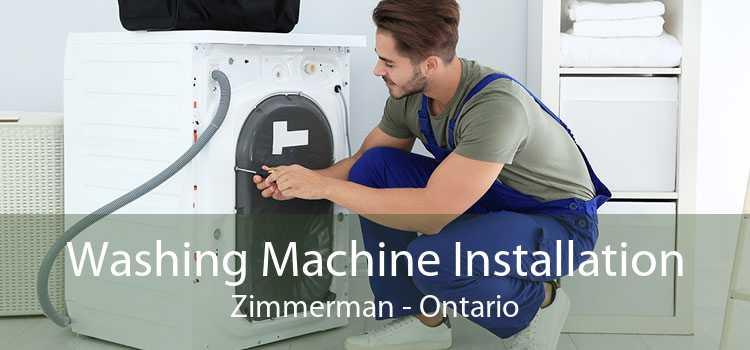 Washing Machine Installation Zimmerman - Ontario